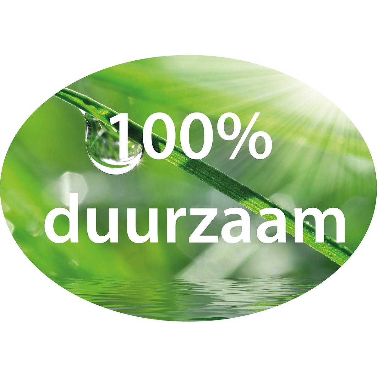 100% duurzaam