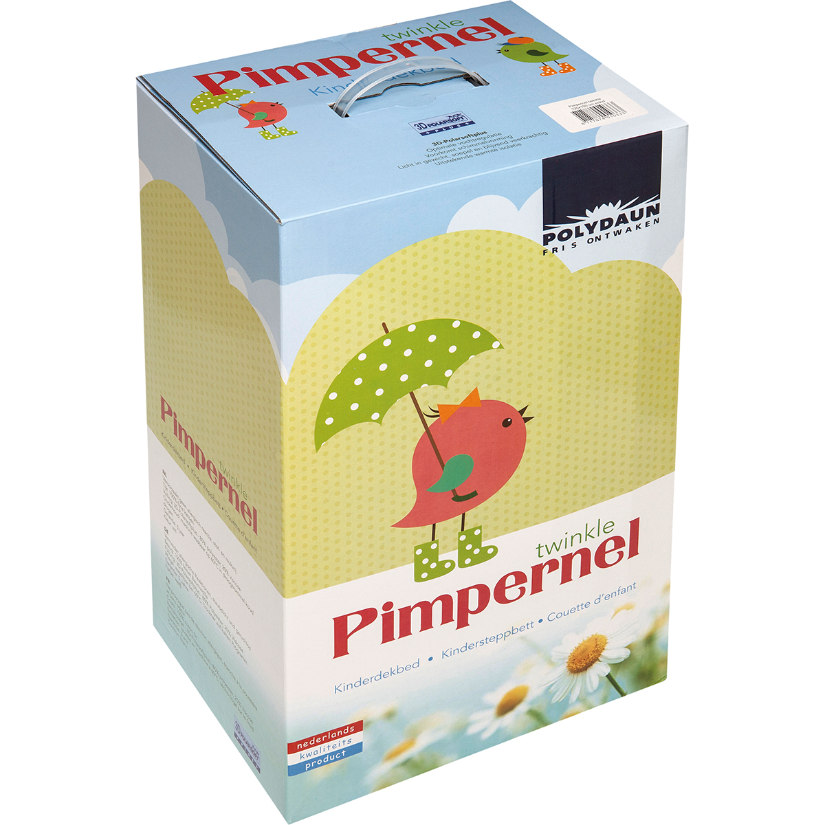 Verpakking Pimpernel Twinkle kinderdekbed
