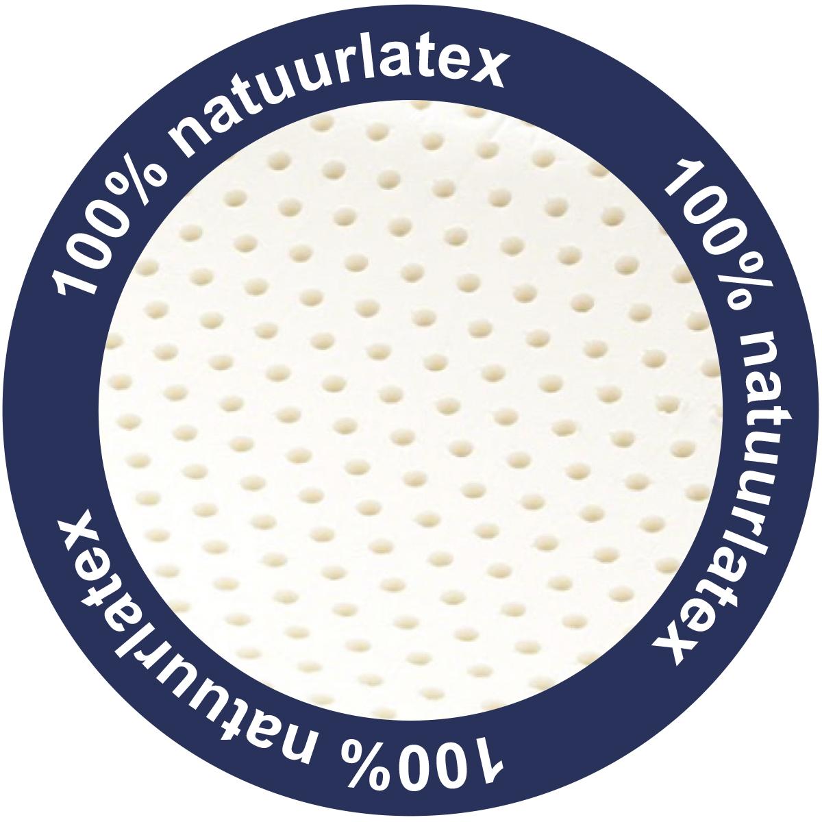 100% natuurlatex