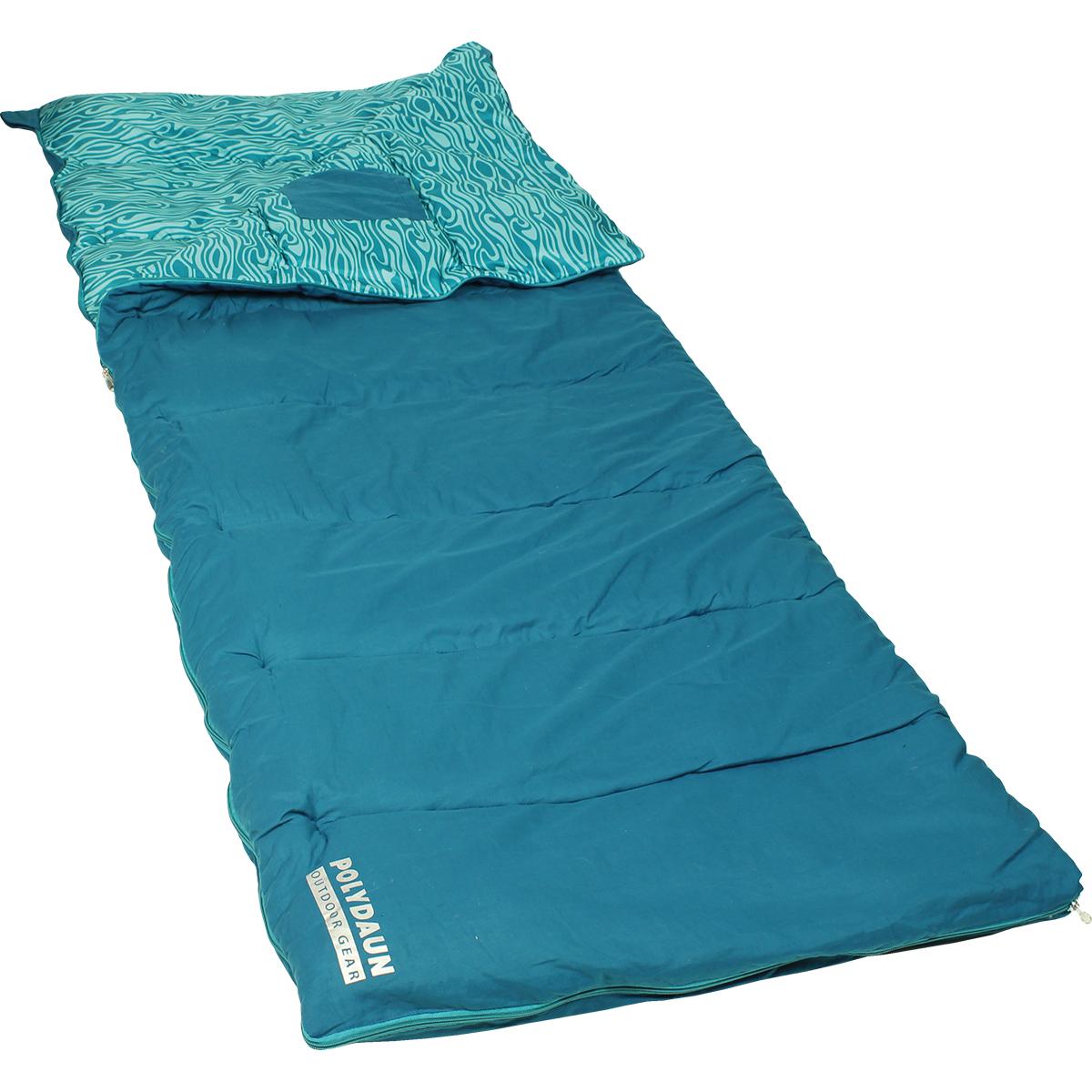Beach House slaapzak turquoise