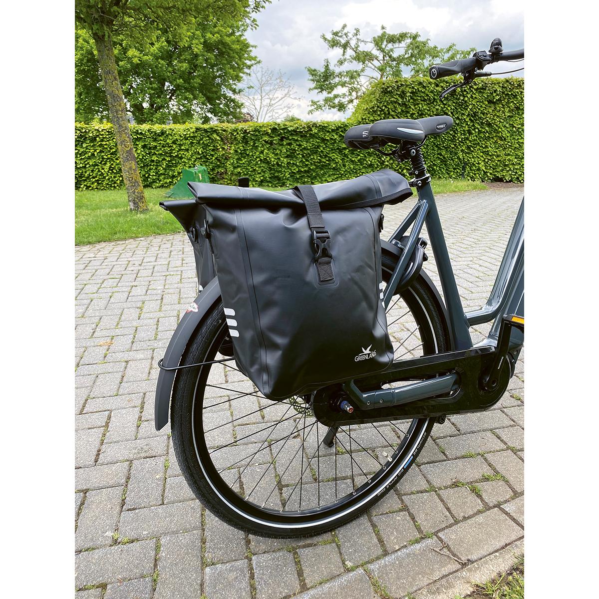 Greenlands waterproof fietstas