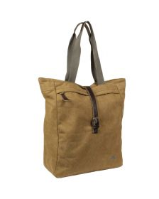 Greenlands canvas shopper camel